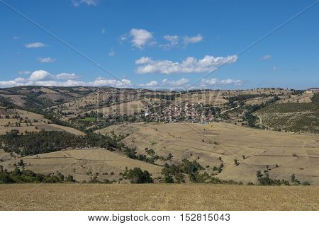 Village scene on the Anatolian plateau, Turkey