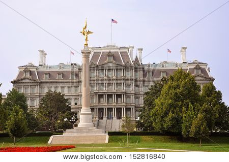 Eisenhower Old Executive Office Building in Washington DC, USA.