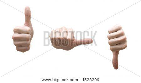 Conceptual Hands