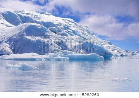 Iceberg, Jökulsarlon Glacial Lagoon, Iceland.