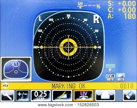 Eye Test Equipment Lcd Monitor