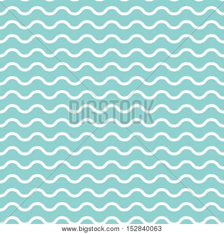 Retro Textured Wave Shaped Seamless Background