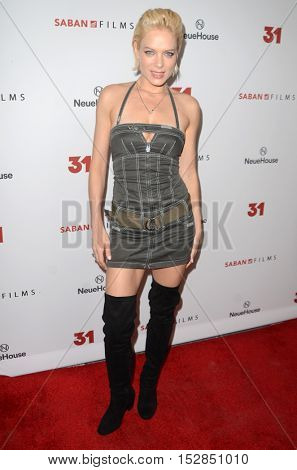LOS ANGELES - OCT 20:  Nina Bergman at the Special Screening of