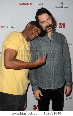 LOS ANGELES - OCT 20:  Lawrence Hilton-Jacobs, Jeff Daniel Phillips at the Special Screening of