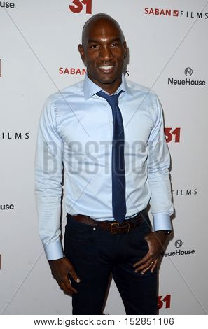 LOS ANGELES - OCT 20:  Jermain Hollman at the Special Screening of