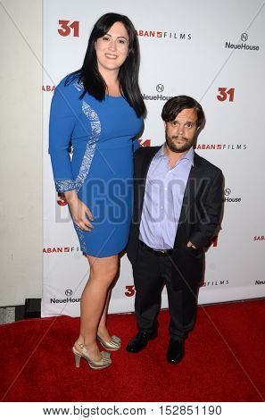 LOS ANGELES - OCT 20:  Guest, Pancho Moler at the Special Screening of