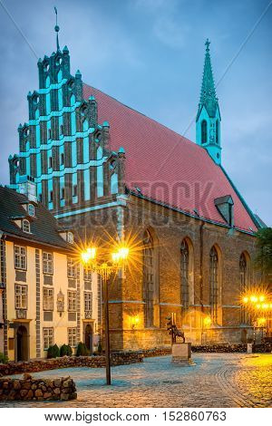 St. John's Church is the Evangelical Lutheran Church in old Riga, Latvia. The church is an active place of worship, with more than a thousand registered members
