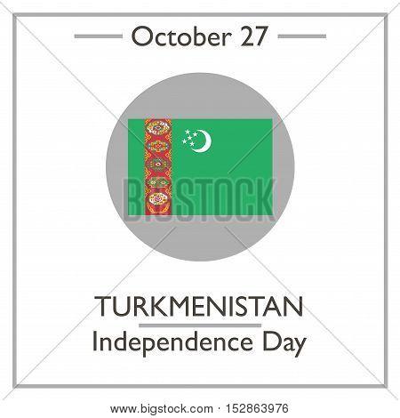 Turkmenistan Independence Day, October 27