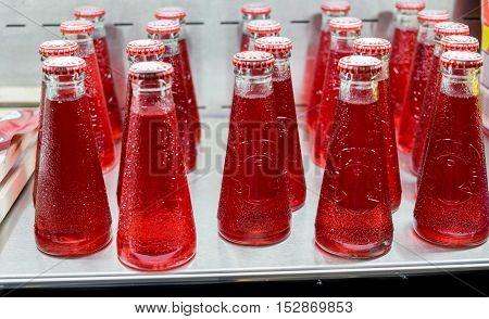 Campari Soda Mini Bottle Sold Market In Israel