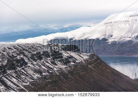 Longyearbyen in Svalbard, Norway