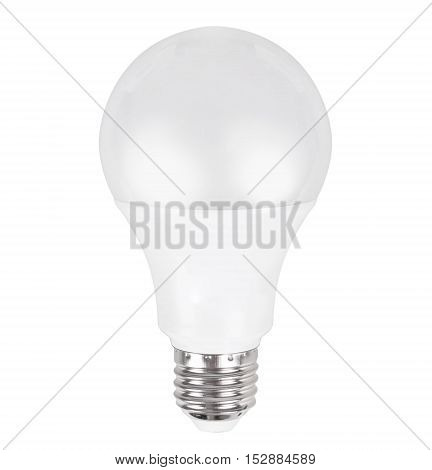 Modern LED lamp isolated on white background