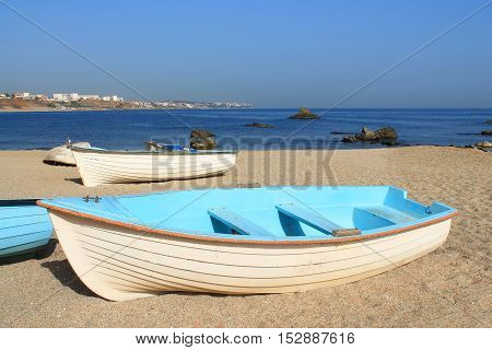 Beach in Algiers, capital city of Algeria