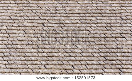 Wooden Roof Tile Background