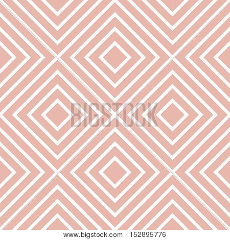 Retro Textured Square Shaped Seamless Background
