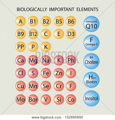 Biologically Important Elements