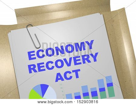 Economy Recovery Act - Business Concept