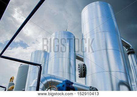 Gas Compressor Station In Ukraine