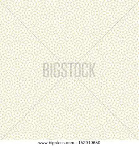 Seamless pattern. Simple linear texture in the form of a zigzag grids waves. Repeating geometric shapes thin lines zigzags rhombuses. Vector element of graphic design