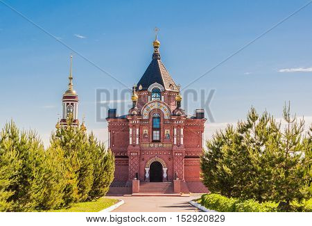 Church of St. Alexander Nevsky Cathedral - one of the three churches located in the southeast area of Suzdal. Built in the early XX century.
