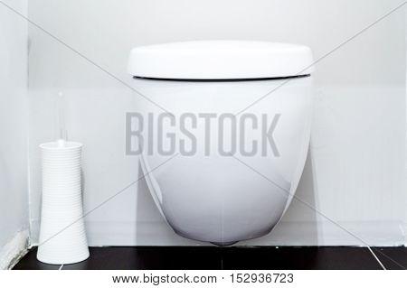 Toilet In A Modern Bathroom