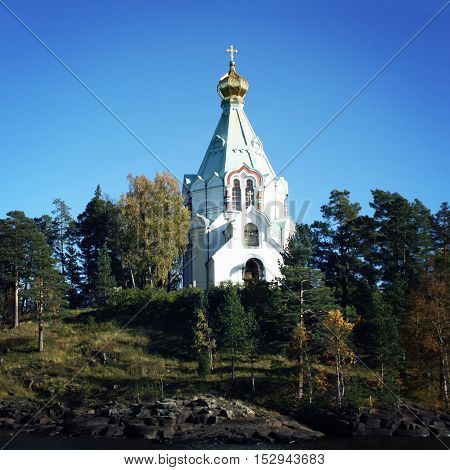 Saint Nicholas's Church. Valaam Island, Russia.