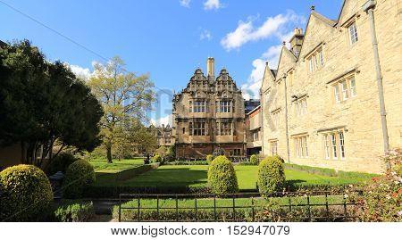 Trinity College and Gardens, Oxford, United kingdom