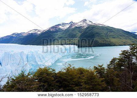 Beautiful landscape of Perito Moreno Glacier in the Patagonia Argentina.