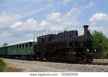Steam engine - big bull Czech republic