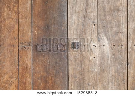 Old wooden door grunge textures and backgrounds