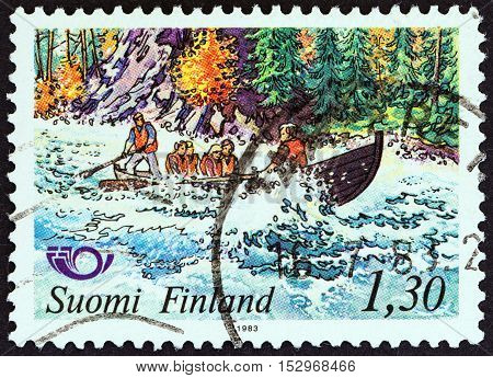 FINLAND - CIRCA 1983: A stamp printed in Finland from the
