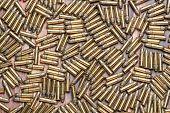 22 caliber rimfire ammunition bullets for a rifle poster