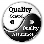 Quality assurance and Quality Control like Ying and Yang are inseparables poster