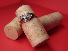 Heart Ring on Corks