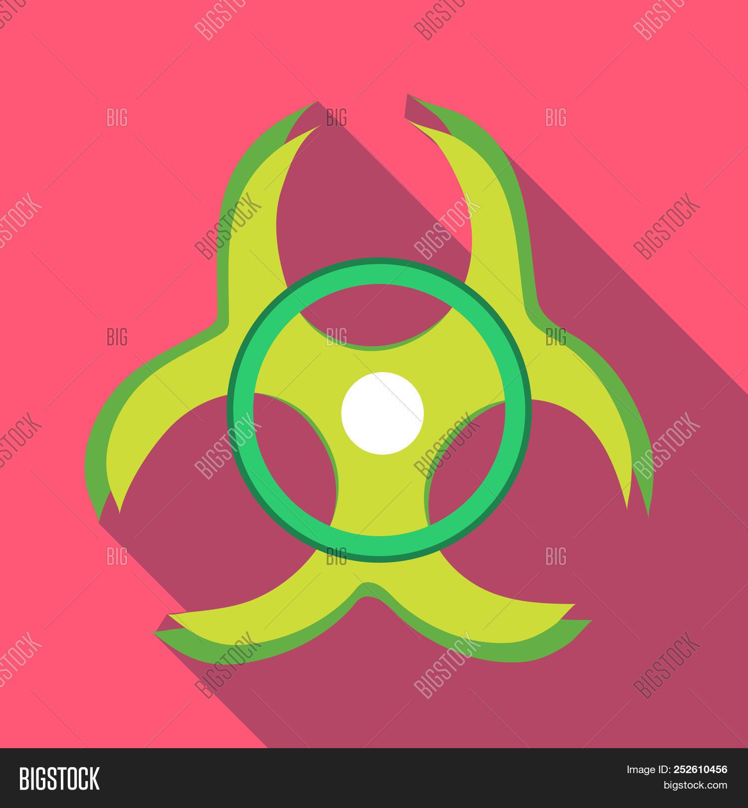 Biohazard Symbol Icon Image Photo Free Trial Bigstock