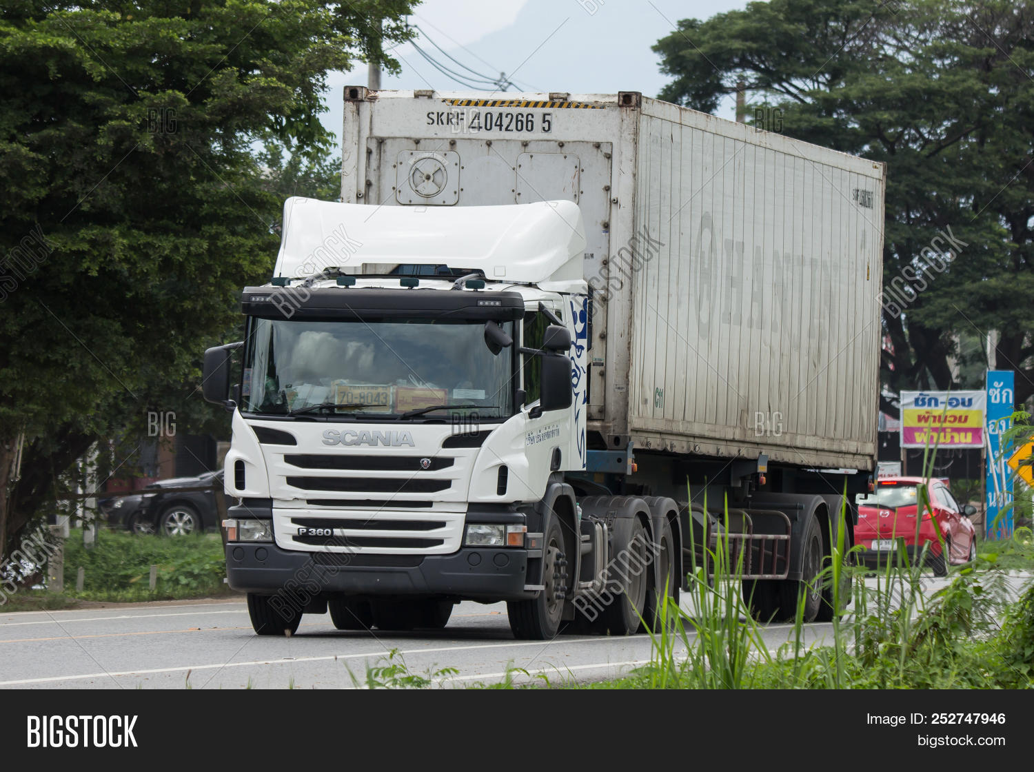 Container Truck Parame Image & Photo (Free Trial) | Bigstock