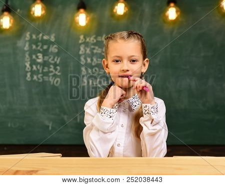 Startup. Startup Of Your Life. Little Girl Startup Business. Business School For Successful Startup.