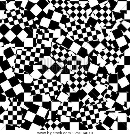 Chess crazy. Seamless vector wallpaper