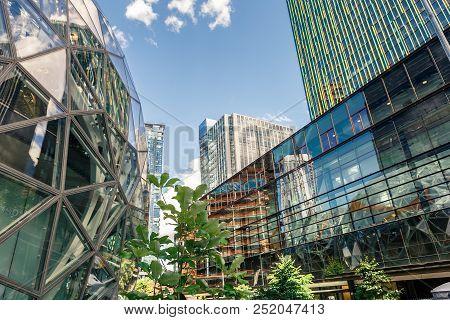 The Amazon World Headquarters Campus Spheres Usa