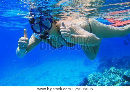 Snorkeling in Red Sea