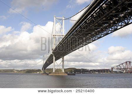 Forth Road Suspension Bridge