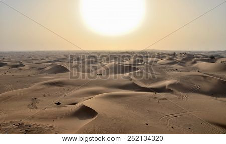 Sunset In The Desert, Dubai, United Arab Emirates