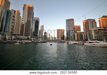 Skyscrapers Of The Dubai City, United Arab Emirates