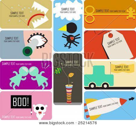 collection businnes card