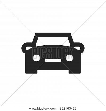 Car Icon Isolated On White Background. Car Icon Modern Symbol For Graphic And Web Design. Car Icon S