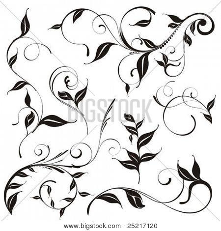 Vintage patterns for design