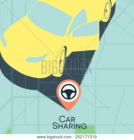 Car Sharing Service Vector Photo Free Trial Bigstock