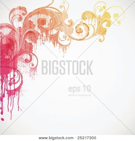 eps10 - abstract background