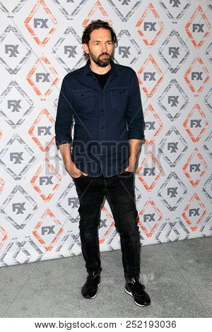 LOS ANGELES - AUG 3:  Nash Edgerton at the FX TCA Starwalk - Summer 2018 on the Beverly Hilton Hotel on August 3, 2018 in Beverly Hills, CA
