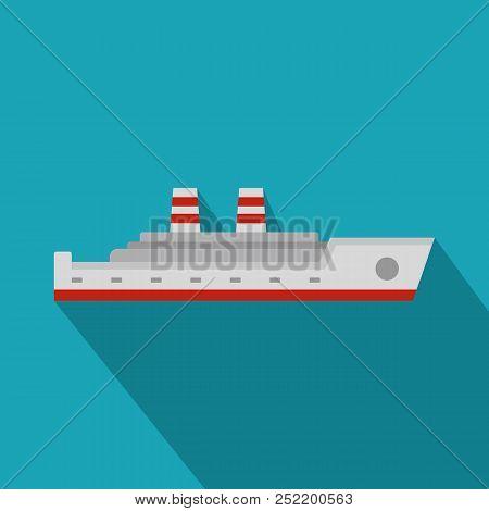 Ship Passenger Icon. Flat Illustration Of Ship Passenger  Icon For Web