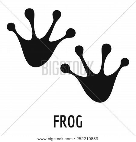 Frog Step Icon. Simple Illustration Of Frog Step  Icon For Web